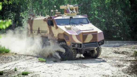 Foto: Nexter Titus Titus (Tactical Infantry Transport & Utility System). / Nexter