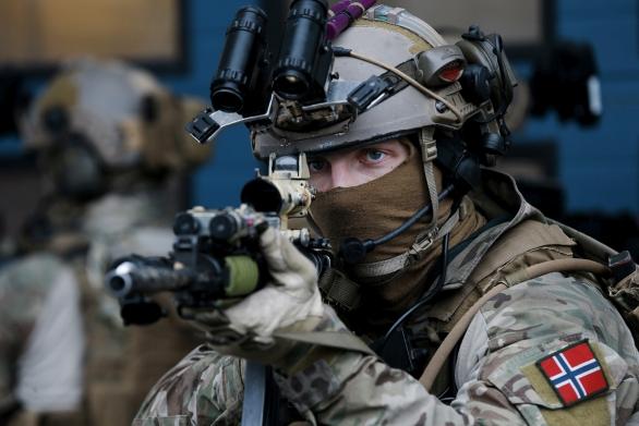 Foto: Norská armáda již několik let do své výzbroje zavádí systémy vojáka budoucnosti NORMANS; ilustrační foto; větší foto / Forsvaret