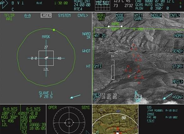 Video: Ilustrační fotografie obrazovky kokpitu F-35. Software verze Block 2B umožní F-35B Lightning II dosáhnou počátečních operačních schopností. / Lockheed Martin.