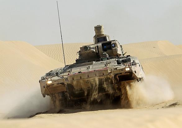 Foto: Puma při testech ve Spojených arabských emirátech. / PSM Projekt System Management