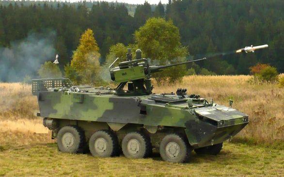 Foto: RAFAEL Advanced Defense Systems Ltd. Dodává dálkově ovládané zbraňové stanice pro česká kolová bojová vozidla pěchoty Pabdur II. / RAFAEL Advanced Defense Systems Ltd.
