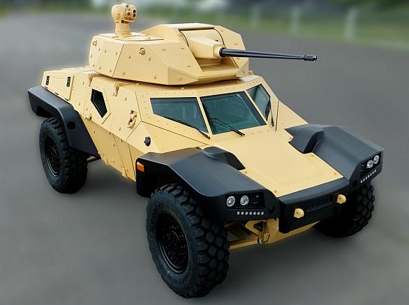 Foto: Panhard CRAB (Combat Reconnaissance Armored Buggy) / Panhard