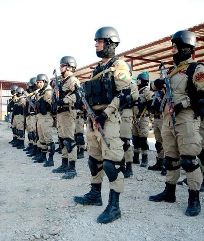 Foto: Příslušníci Pěšmergů iráckého Kurdistánu. / Enno Lenze, CC BY 2.0