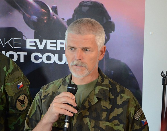 náčelník Generálního štábu generálporučík Petr Pavel