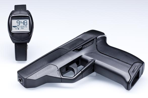 Foto: Chytrá pistole iP1 Pistol. /  ArmatixGmbH