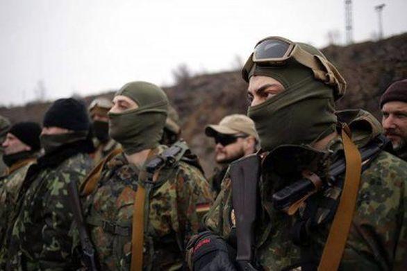 —První zprava je Tomáš, slovenský dobrovolník v batalionu AZOV; Foto archiv Tomáše