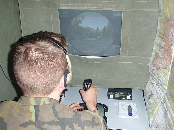 Výcvik 2. mechanizované roty s podporou počítačů