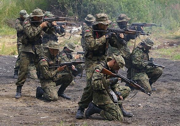 Foto: Relativně početným a moderním vojskem disponuje Polsko. Polští vojáci jsou navíc dobře vycvičeni a vysoce motivováni. /  Łukasz Golowanow& Maciek Hypś, Konflikty.pl