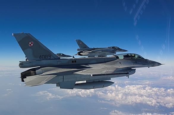 Foto: Polské F-16. / Public Domain