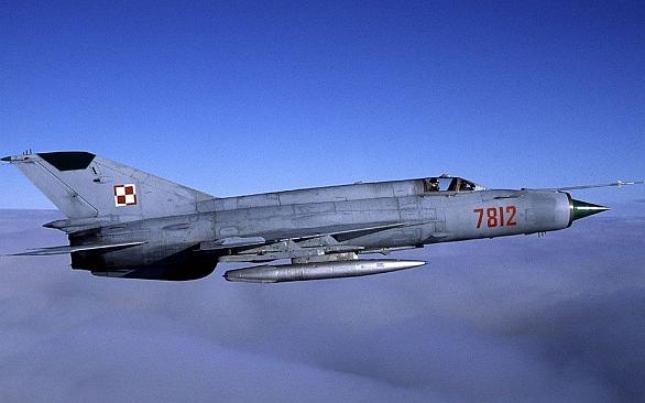 Foto: Polský MiG-21 / Polské ministerstvo obrany