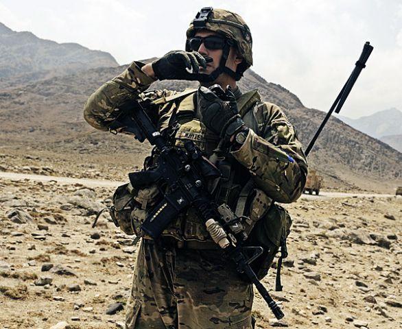 Americký voják v roce 2011