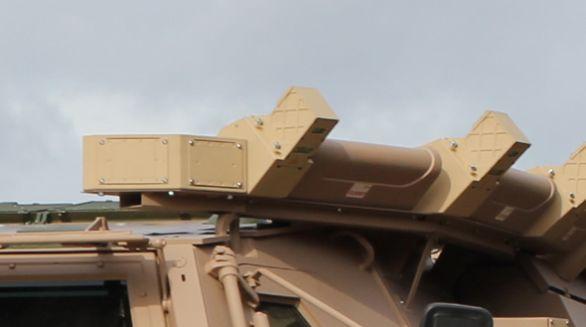 Aktivní ochranný systém vozidla proti RPG
