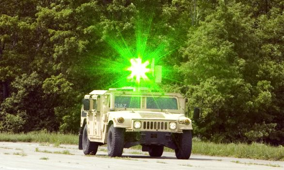 Green Laser Escalation of Force (GLEF)