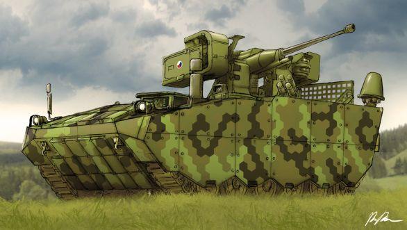 modernizované BVP-1