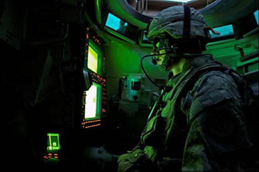 velitelské stanoviště M1A2 Abrams