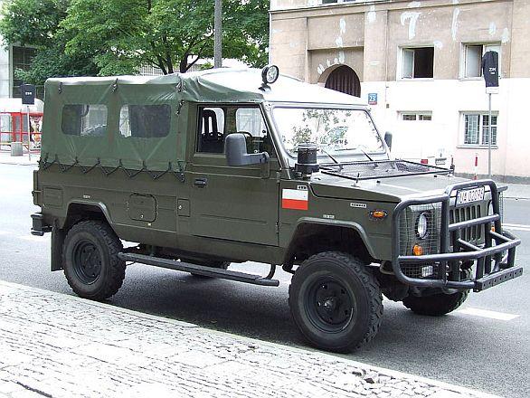 Polské vozidlo Honker
