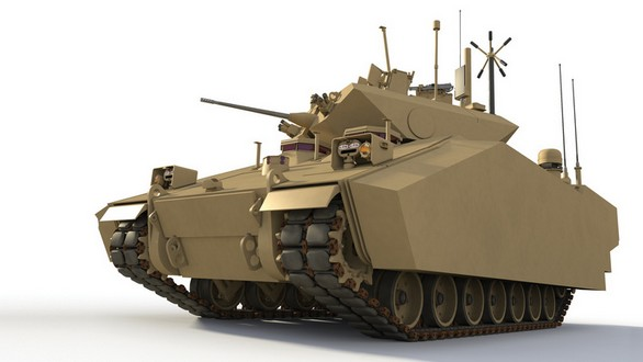 BAE Systems GCV HED
