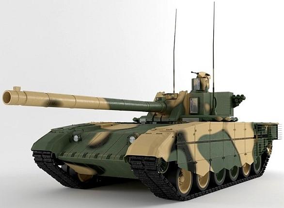"""Pravděpodobný vzhled tanku """"Armata"""""""