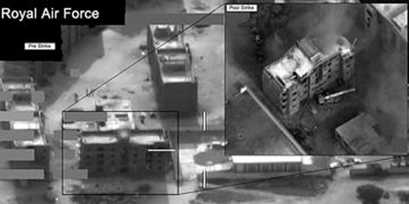 Foto: Moderní technologie dokáží přesně zacílit protivníka (pokud víte, kde je); ilustrační foto / Royal Air Force