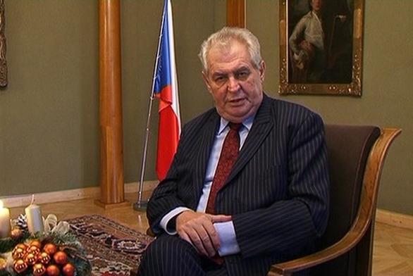 Foto: Prezident České republiky Miloš Zeman. /Army.cz