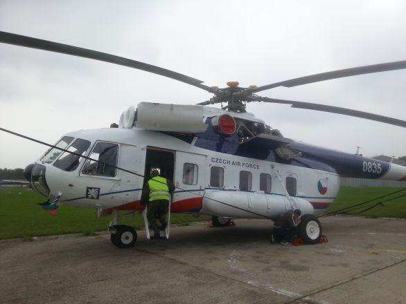 Prezidentský vrtulník Mi-8S