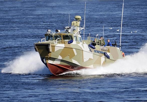 Foto: Ruský člun Projekt 03160 Raptor / VMF