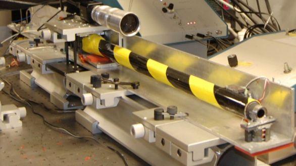 laserové měření hlavně