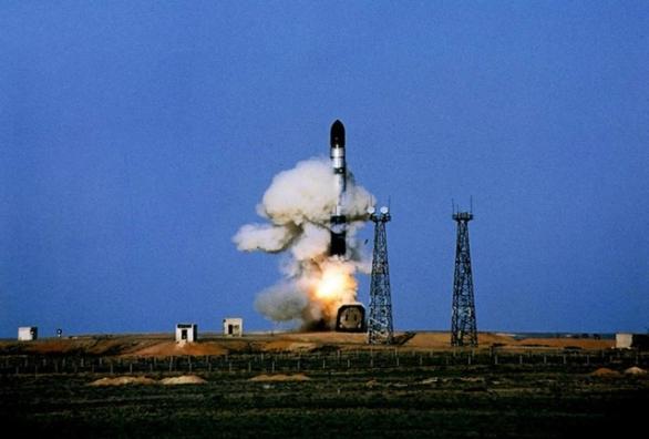 Foto: Start rakety R-36 Vojvoda. / Public Domain