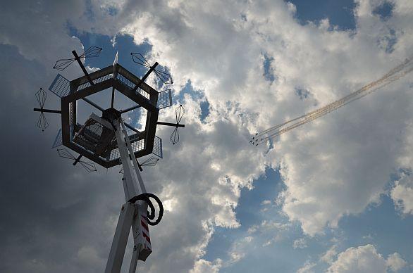 Foto:  Systém založený na technologii Pasivní koherentní lokace. / ERA