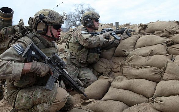 Foto: 75. pluk Rangers. / US Army