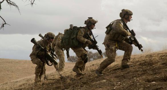 75. pluku Rangers působí vAfghánistánu