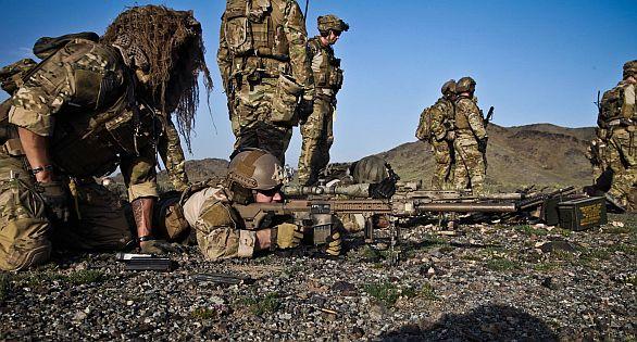 Příslušníci 2. praporu 75. pluku Rangers při polním cvičení v roce 2014. Autor: 2. prapor 75. pluk Rangers