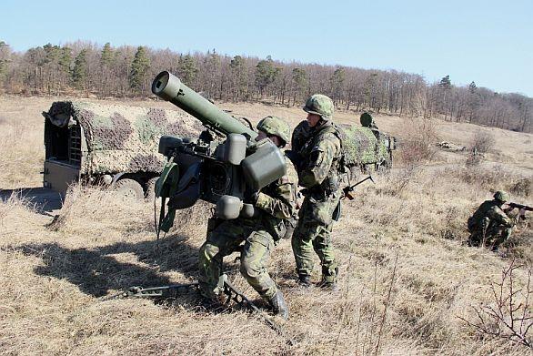 foto: Příslušníci strakonického 25. protiletadlového raketového pluku. / rotmistryně Pavlína Ryplová