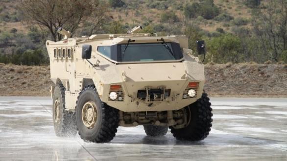 Foto: RG35 MIV se vzhledově i koncepčně podobá americkému M117. /  Land Systems OMC