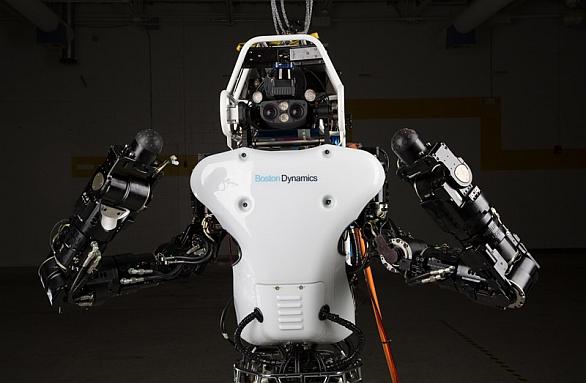 Foto: Nejnovější model humanoidního robota ATLAS. /  Boston Dynamics