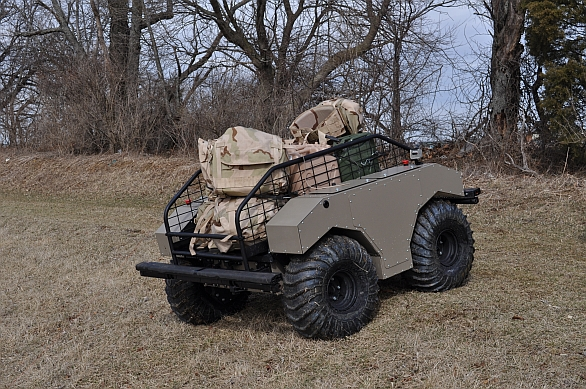 Foto: MUTT (Multi-Utility Tactical Transport). / General Dynamics Land Systems