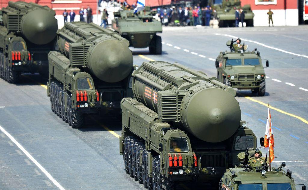 Foto: Ruská vojenská technika na Rudém náměstí; větší foto / Kremlin.ru, CC BY 3.0