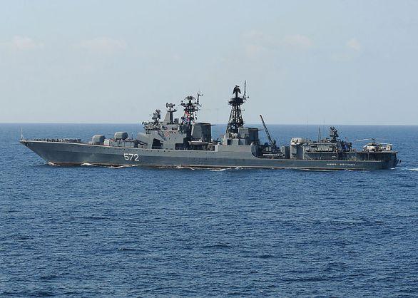 Foto: Admiral Vinogradov třídy Udaloj; ilustrační foto / U.S. Navy