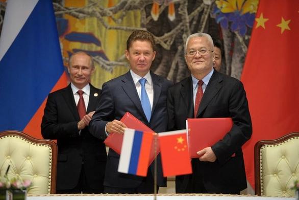 Podpis rusko-čínské plynové dohody. Foto: Wikipedia Commons