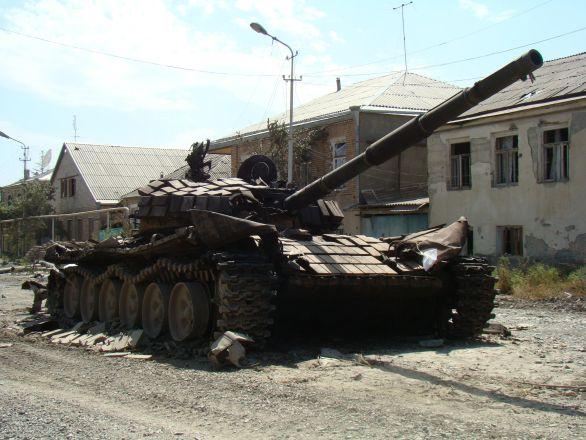 Gruzie tank
