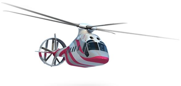 Foto: Prvotní návrhy nástupců dopravních vrtulníků Mi-8/17. / Oboronprom