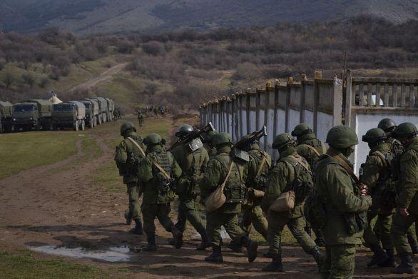 Foto: Ruští vojáci na Krymu; ilustrační foto / Anton Holoborodko, CC BY-SA 3.0