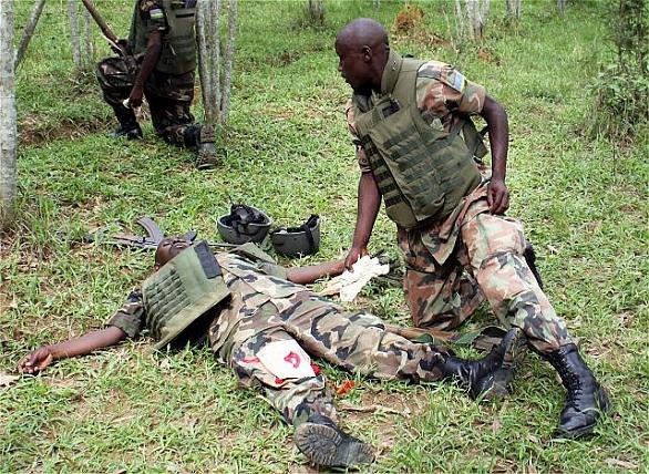 Vojáci Rwandy
