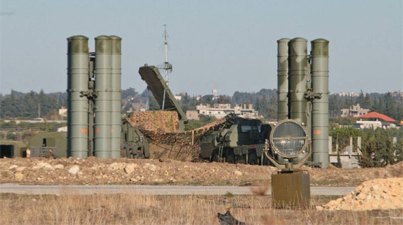 Foto: S-400 v Sýrii. / Kremlin.ru