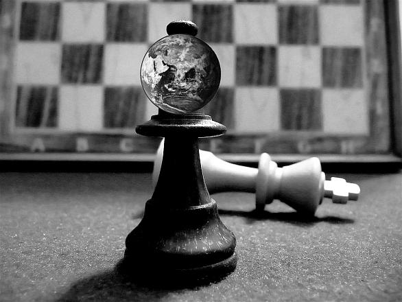 Šachy se zemí
