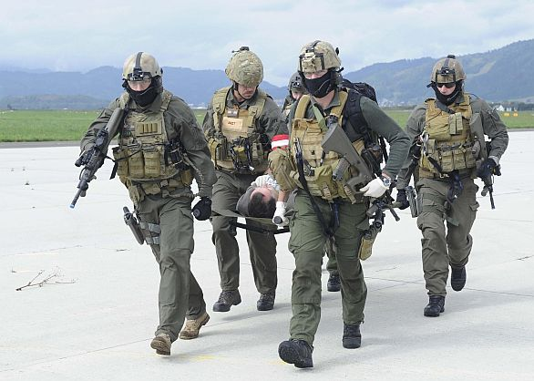 Foto: Rakouští vojáci při cvičení Safe Return 2014. / Rakouské ministerstvo obrany