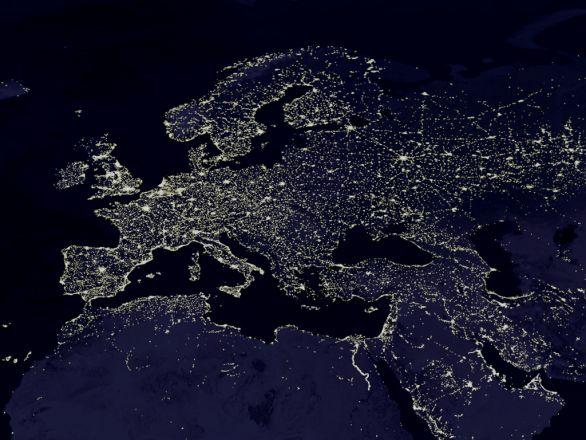 Foto: Jak dlouho budou svítit světla nad Evropou?; ilustrační foto / Volné dílo