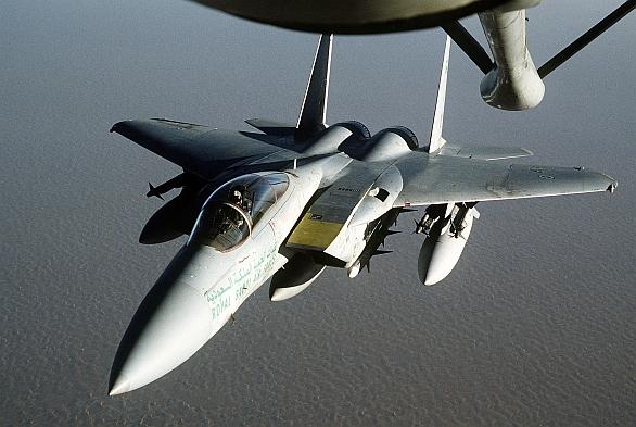 Foto: F-15C Eagle Královského saudského letetcva. / Public domain