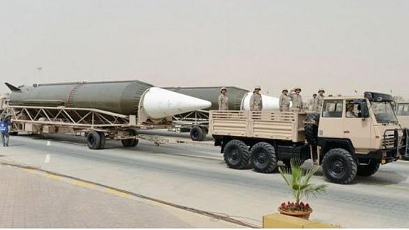 Saudské balistické rakety DF-3