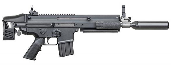 Foto: Miniaturní karabina FN SCAR-P / FN